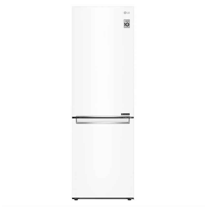 Kombinácia chladničky s mrazničkou LG GBB61SWJZN biela + Extra zľava 10 % | kód 10HOR2026 + Doprava zadarmo