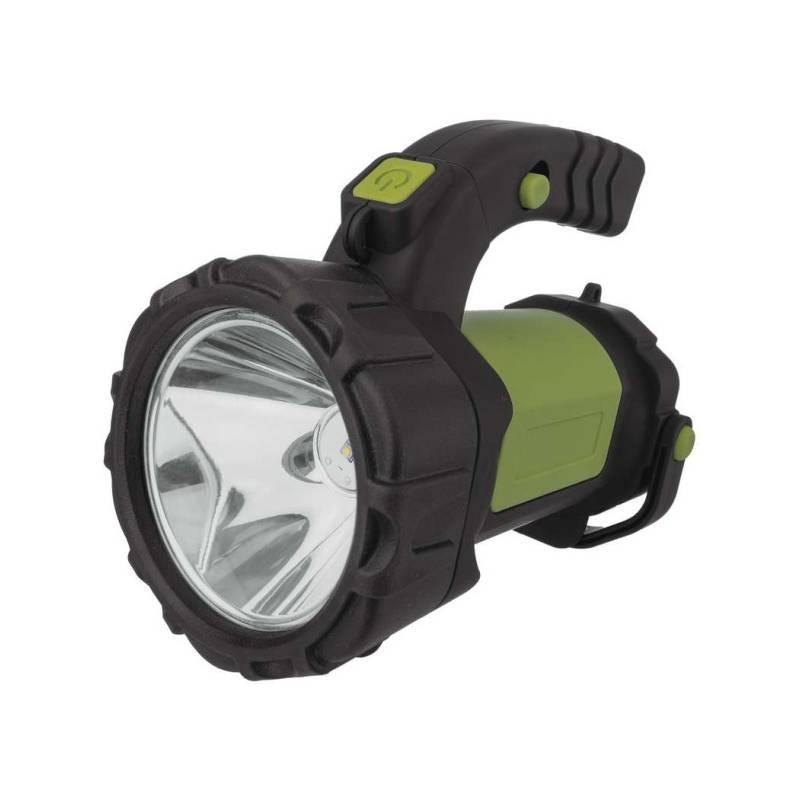 Lampáš EMOS LED P4526, 5W CREE + COB LED (1450000250) čierna/zelená