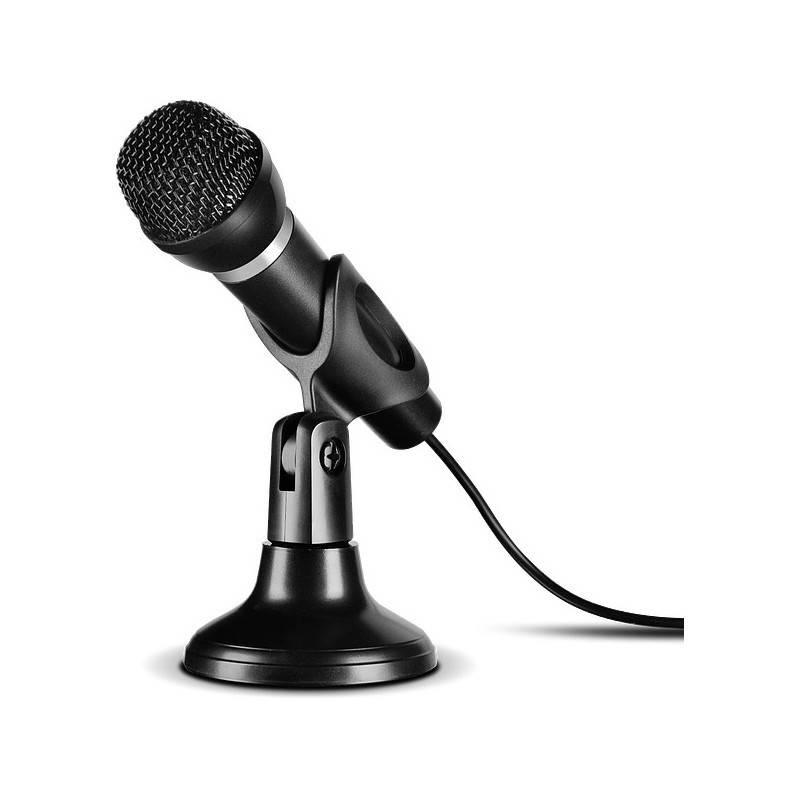 Mikrofon Speed Link Capo USB Desk & Hand (SL-800002-BK) černý