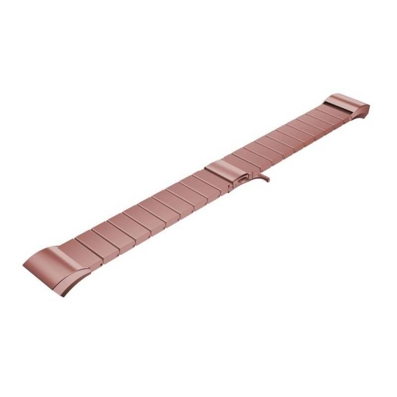 Remienok WG na Samsung Gear S2 (R720), kovový rovný (9121) ružový