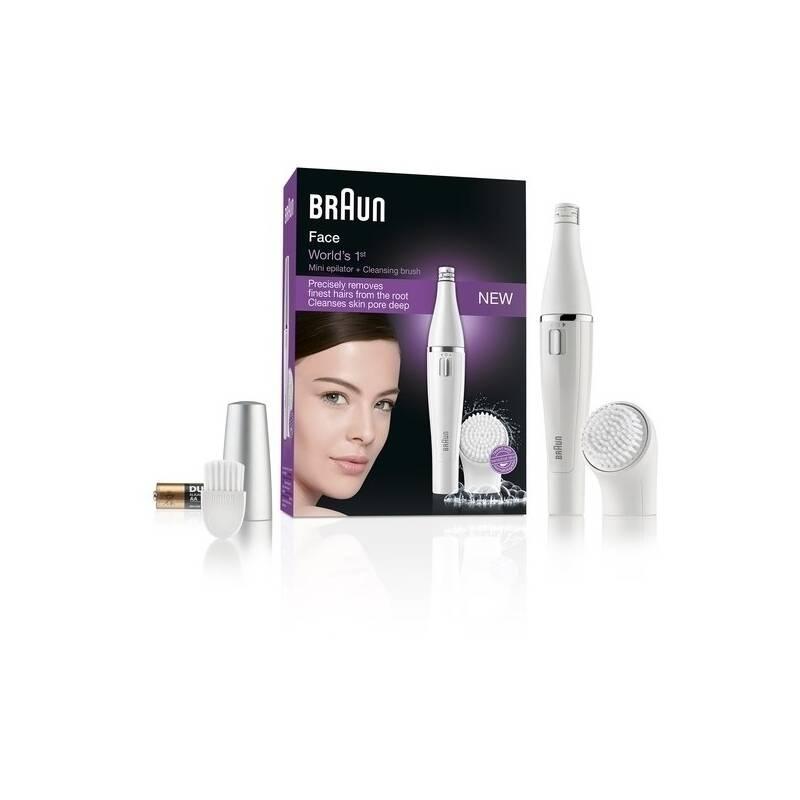Tvárový epilátor Braun Face 810 biely + Doprava zadarmo