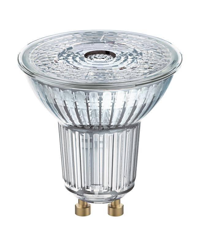 LED žiarovka Osram bodová, 4,3W, GU10, studená bílá