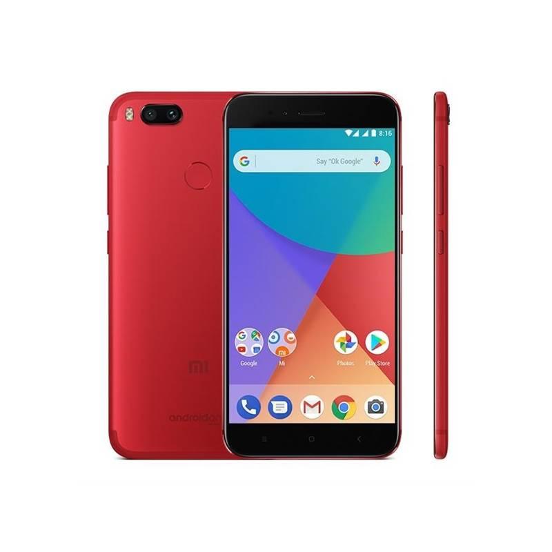 Mobilný telefón Xiaomi Mi A1 CZ LTE Dual SIM (PH3733) červený + Doprava zadarmo