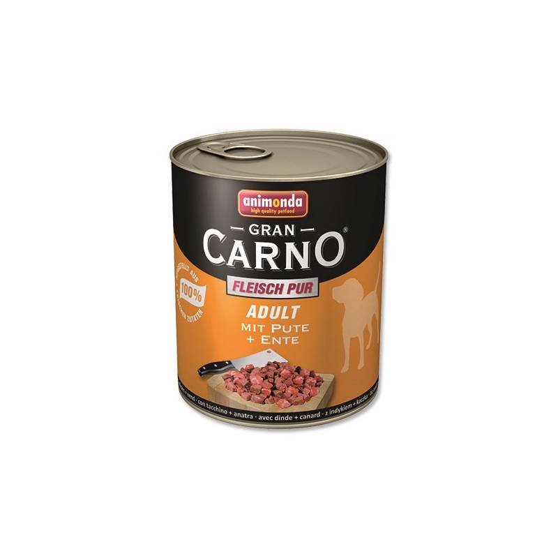 Konzerva Animonda Adult Gran Carno krůta + kachna 800g