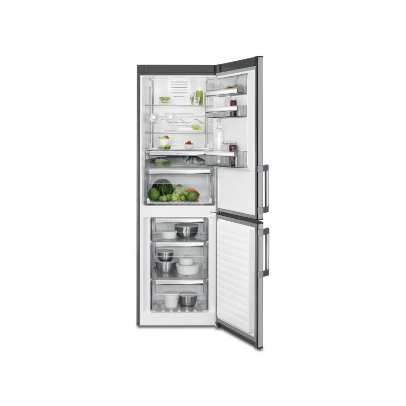 Kombinácia chladničky s mrazničkou AEG Mastery RCB63326OX nerez + Doprava zadarmo