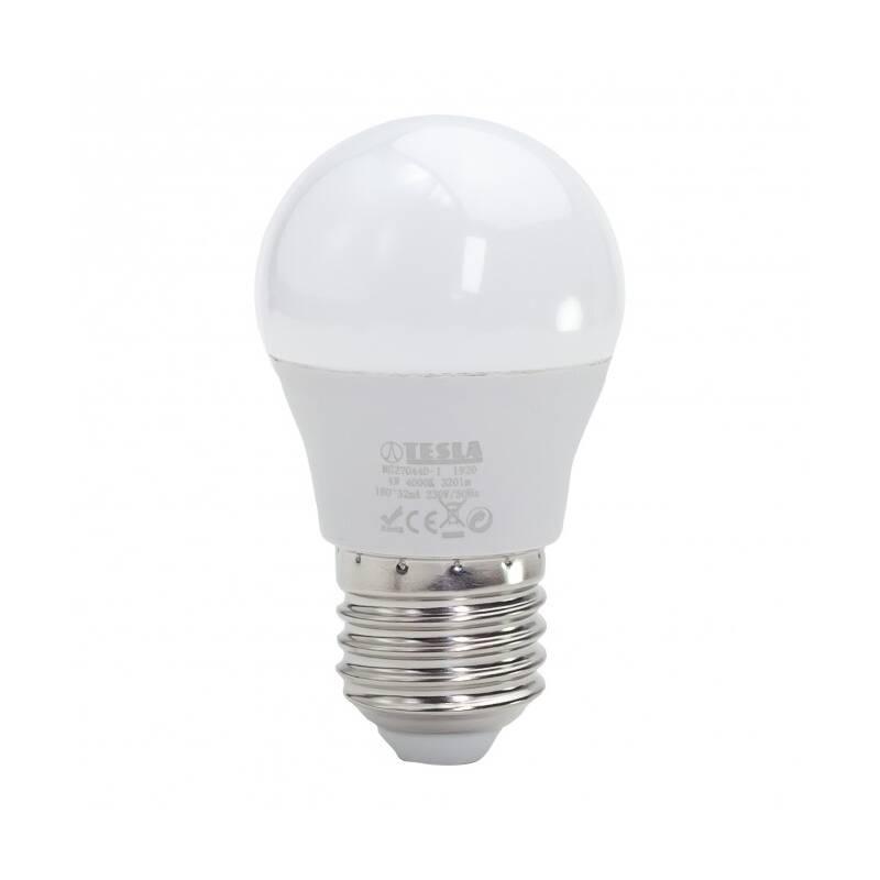 LED žiarovka Tesla klasik mini, 4W, E27, neutrální bílá (MG270440-1)
