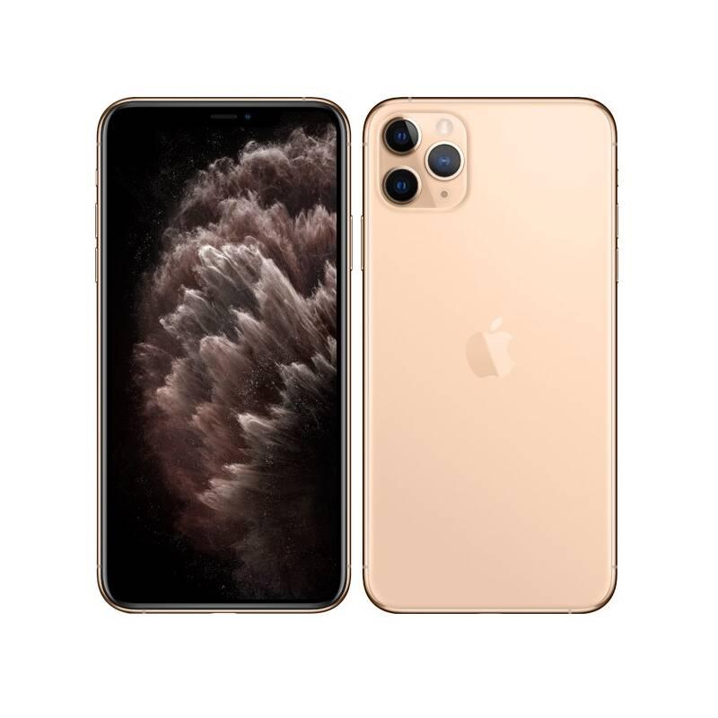 Mobilní telefon Apple iPhone 11 Pro Max 512 GB - Gold (MWHQ2CN/A)