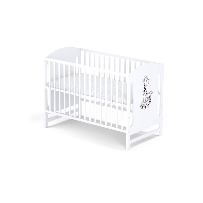 Postieľka detská drevená Baby Sky MIKI 100 biela