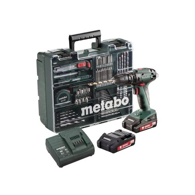 Aku vŕtačka Metabo SB 18 Set Mobilní dílna