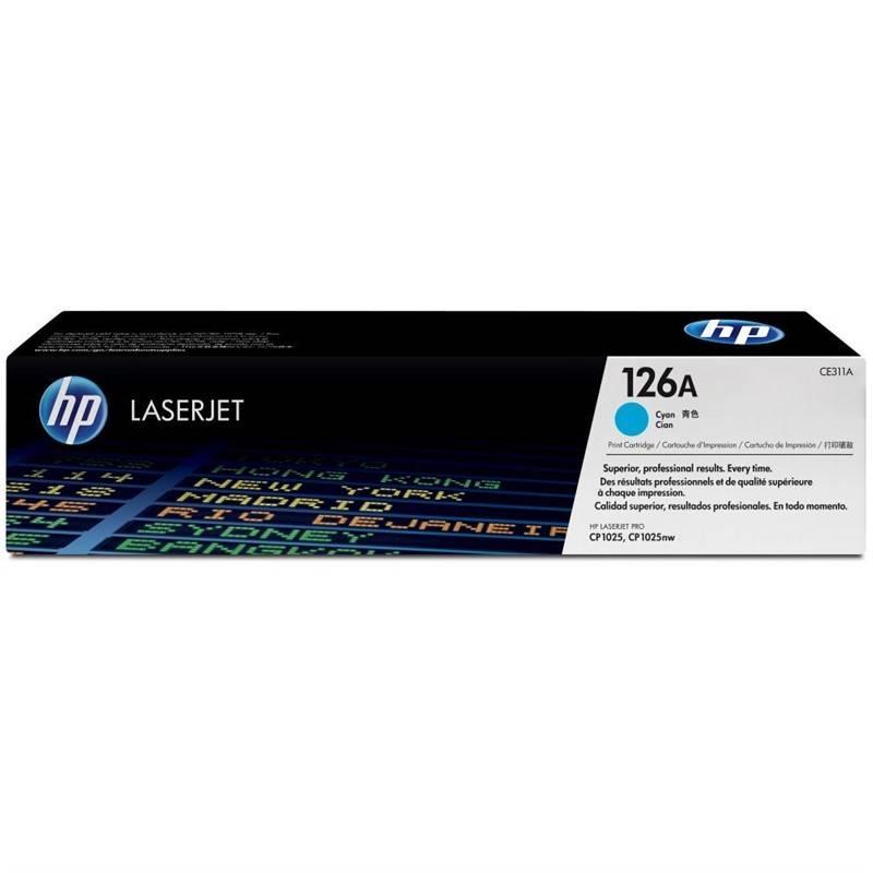 Toner HP 126A, 1000 stran (CE311A) modrá