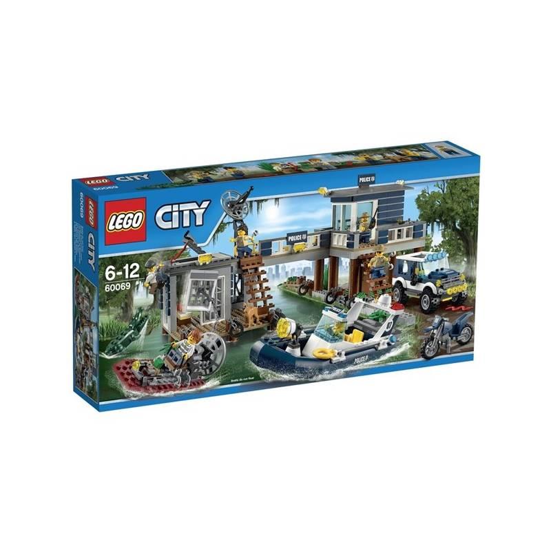 Zestawy Lego City City Police 60069 Posterunek Policji Z Bagien