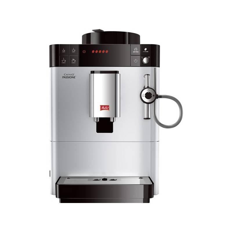 Espresso Melitta Passione Stříbrné strieborné + Doprava zadarmo