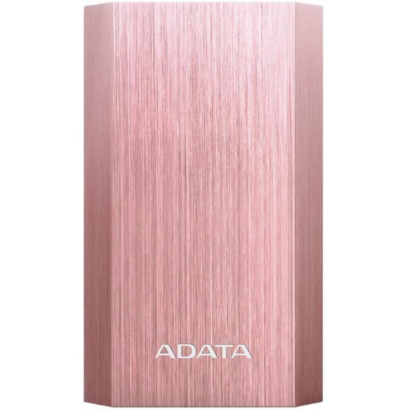 Power Bank ADATA A10050 10050mAh (AA10050-5V-CRG) ružová