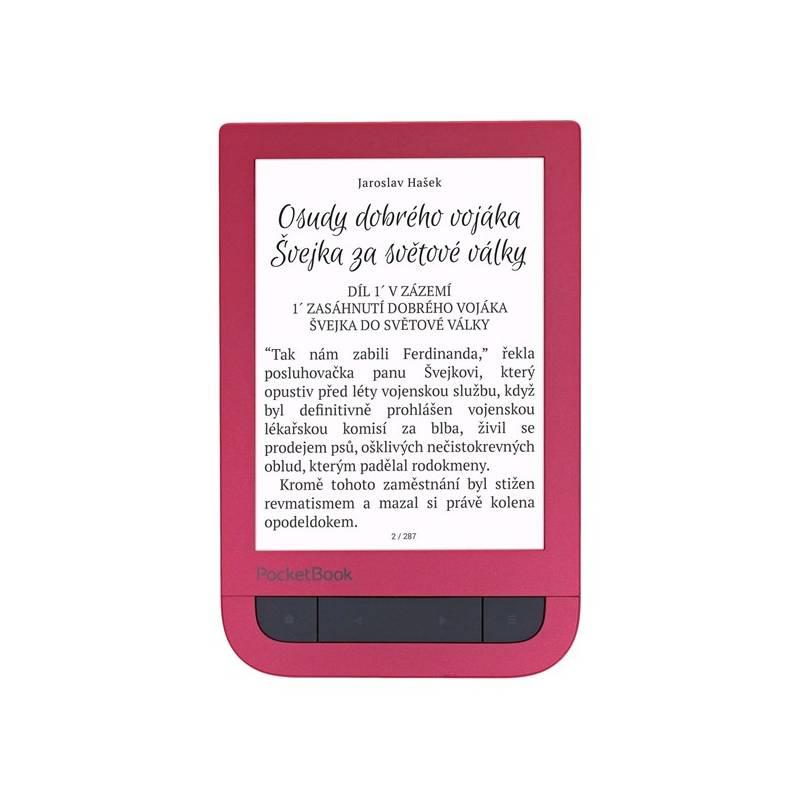 Čítačka kníh Pocket Book 631+ Touch HD 2 (PB631-2-R-WW) červená