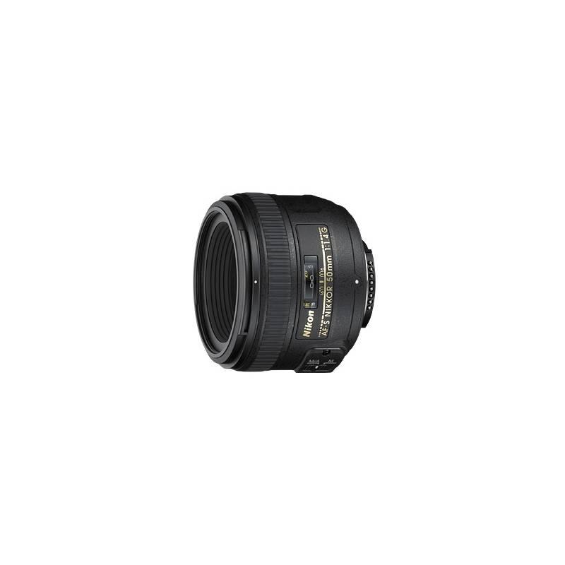 Objektív Nikon NIKKOR 50 mm f/1.4G AF-S čierny + Doprava zadarmo
