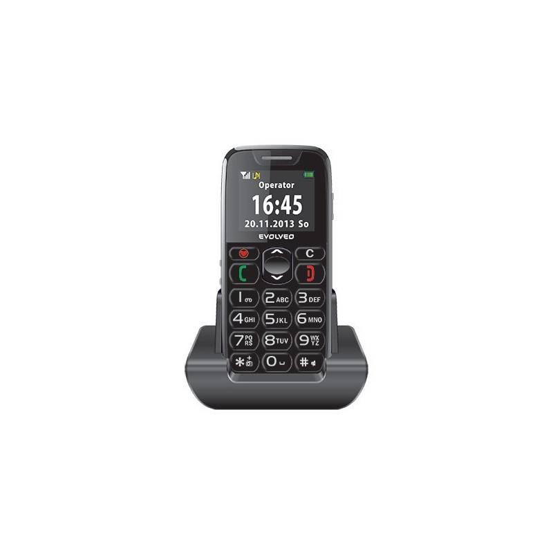 Mobilný telefón Evolveo EasyPhone EP-500 (EP-500) čierny Software F-Secure SAFE, 3 zařízení / 6 měsíců (zdarma)
