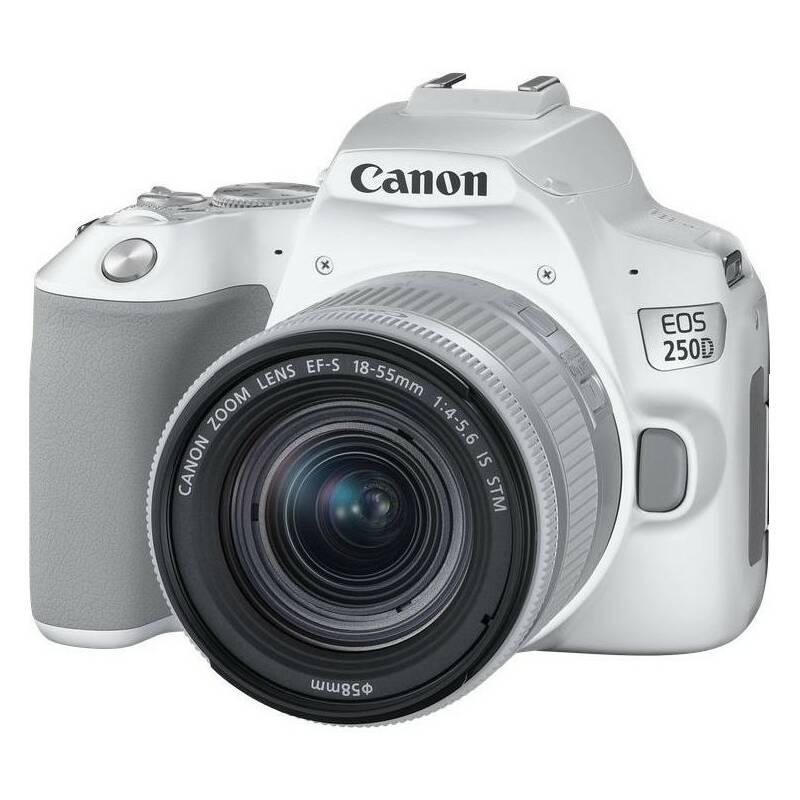 Digitálny fotoaparát Canon EOS 250D + 18-55 IS STM (3458C001) biely + Doprava zadarmo