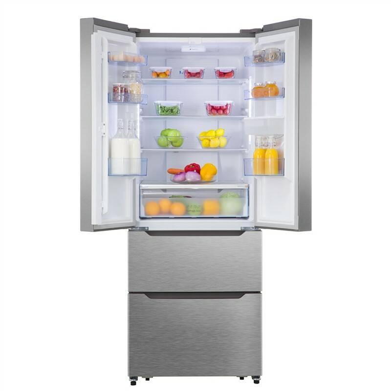 Kombinácia chladničky s mrazničkou Hisense RF528N4WC1 nerez + Doprava zadarmo