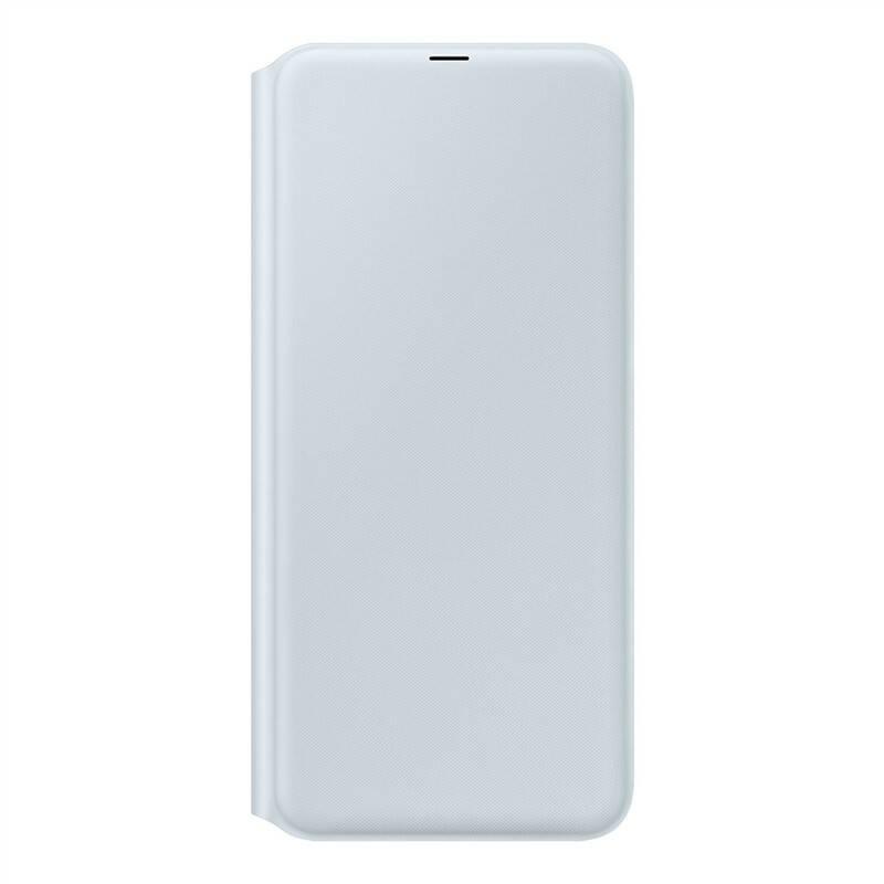 Pouzdro na mobil flipové Samsung Wallet Cover pro Galaxy A70 (EF-WA705PWEGWW) bílé