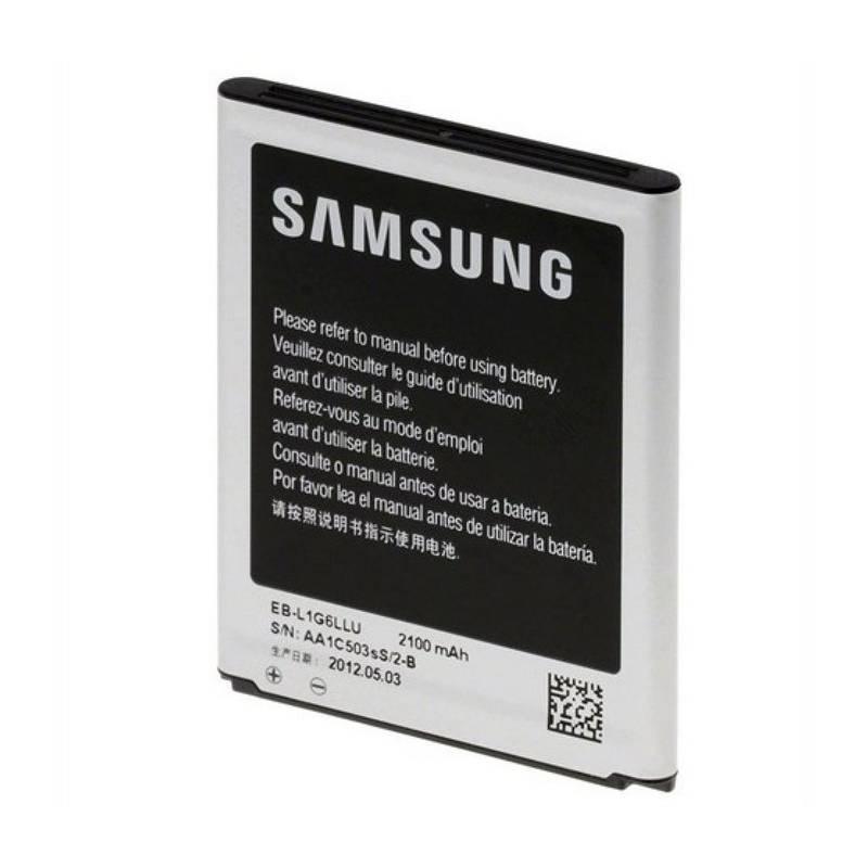 Baterie Samsung pro Galaxy S3, Li-Ion 2100mAh (EB-L1G6LLUCSTDB) - bulk
