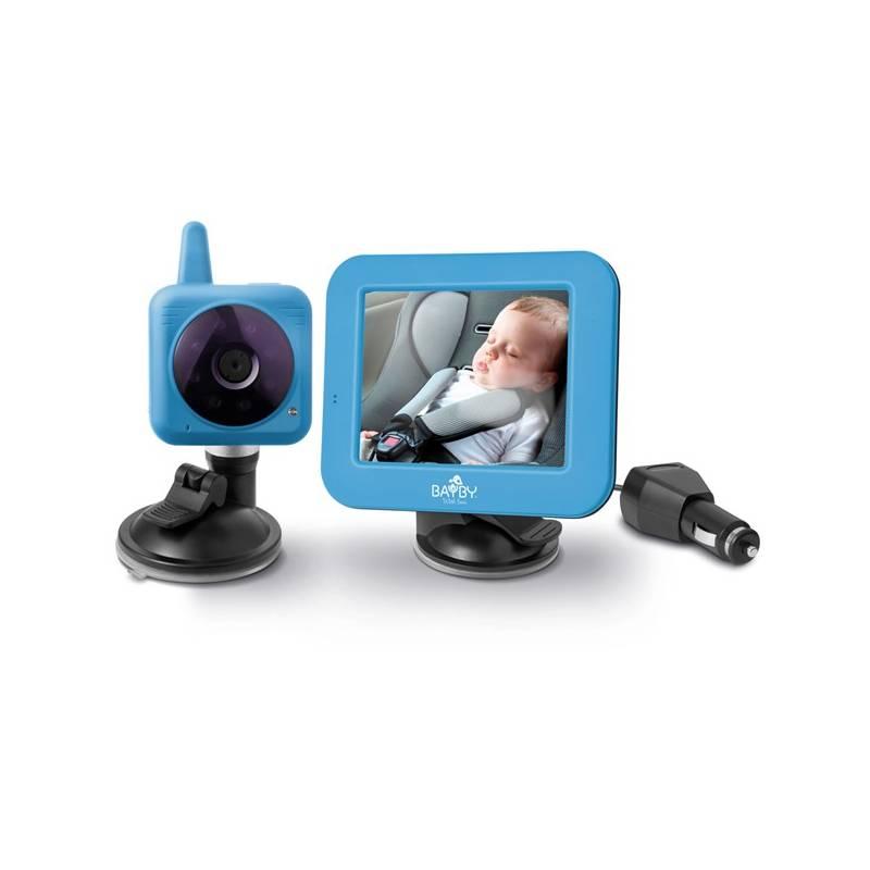 Detská elektronická pestúnka BAYBY BBM 7030 digitálna video modrá