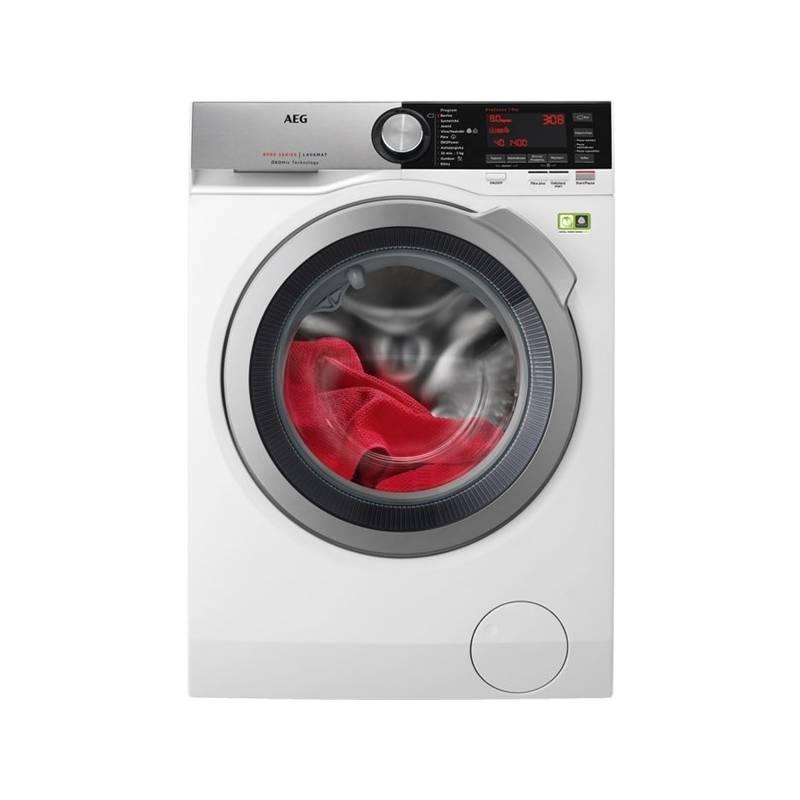 Automatická práčka AEG ÖKOMix® L8FEC68SC biela + Doprava zadarmo