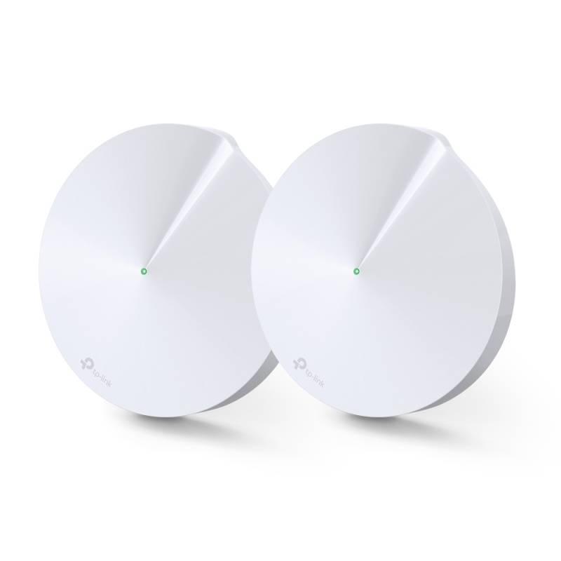 Prístupový bod (AP) TP-Link Deco P7 AC1300 Hybrid Mesh WiFi system, 2 Pack (Deco P7(2-pack)) biely