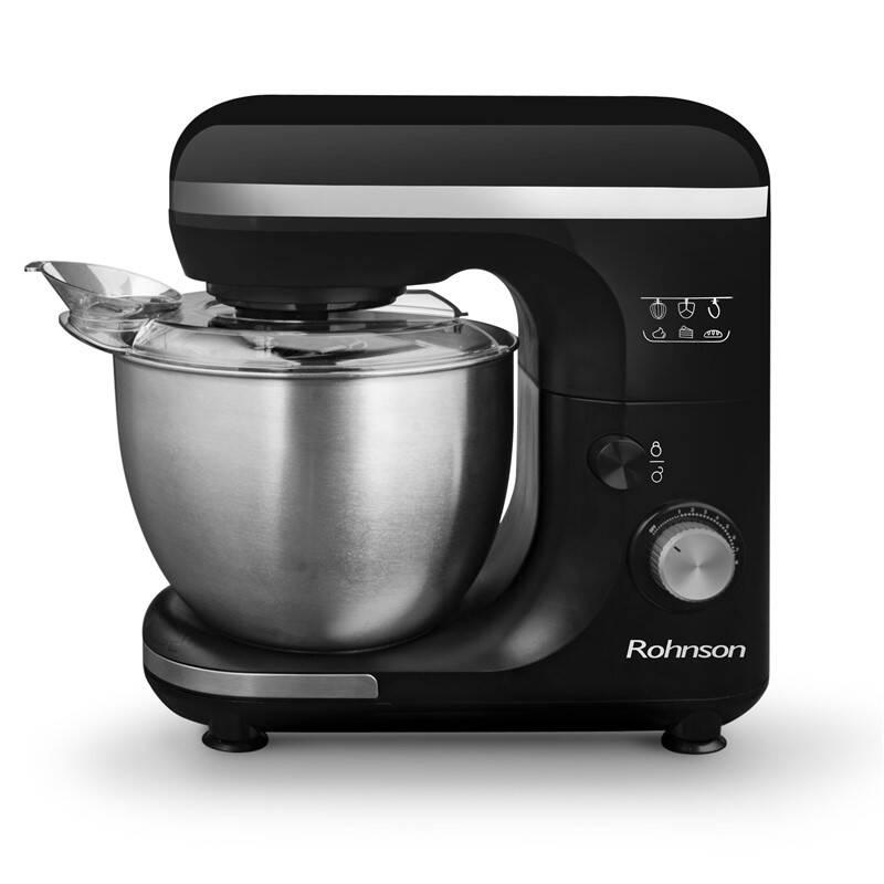 Kuchynský robot Rohnson R-588 čierny + Doprava zadarmo