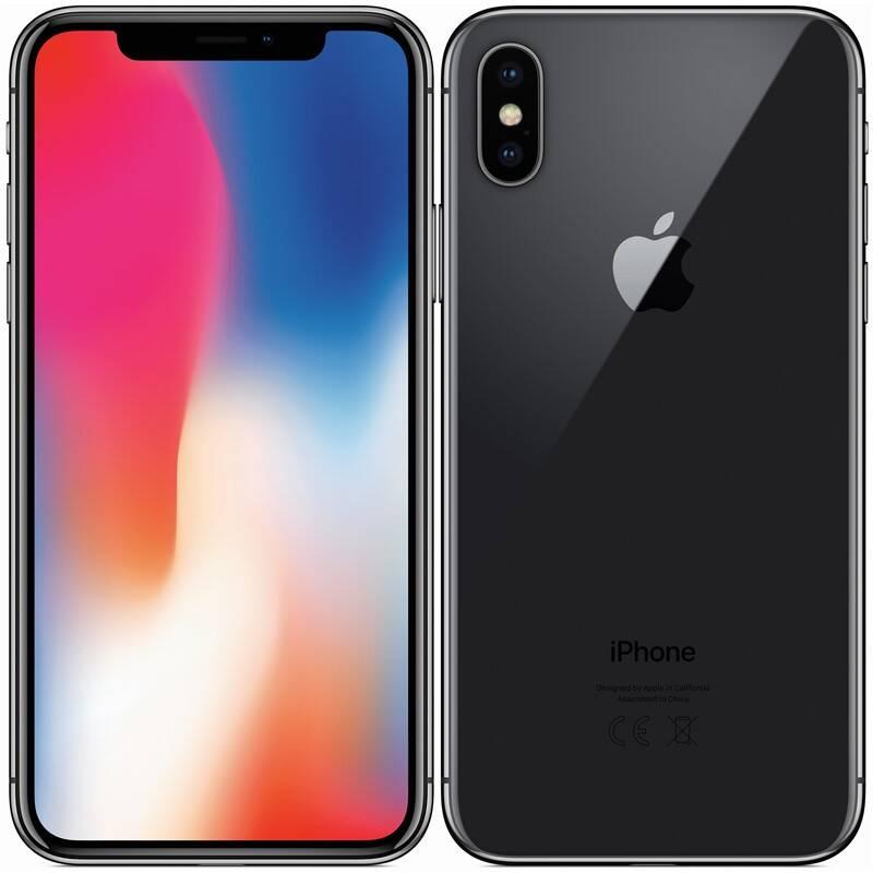 Mobilný telefón Apple iPhone X 256 GB - Space Gray (MQAF2CN/A) + Doprava zadarmo