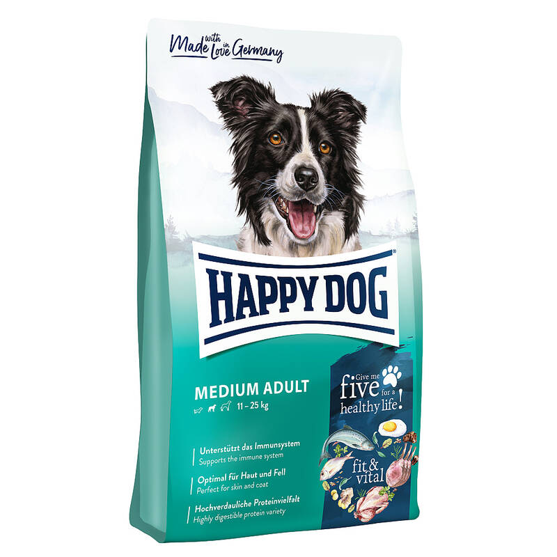 Granule HAPPY DOG MEDIUM Adult 12 kg + Doprava zadarmo