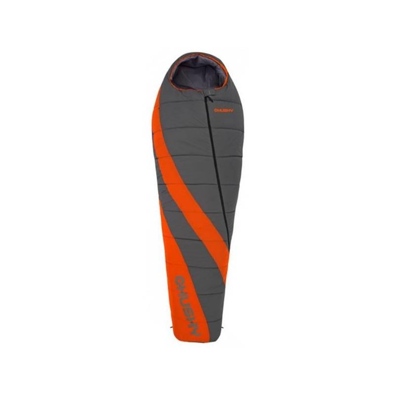 Spací vak Husky Enjoy Long sivý/oranžový