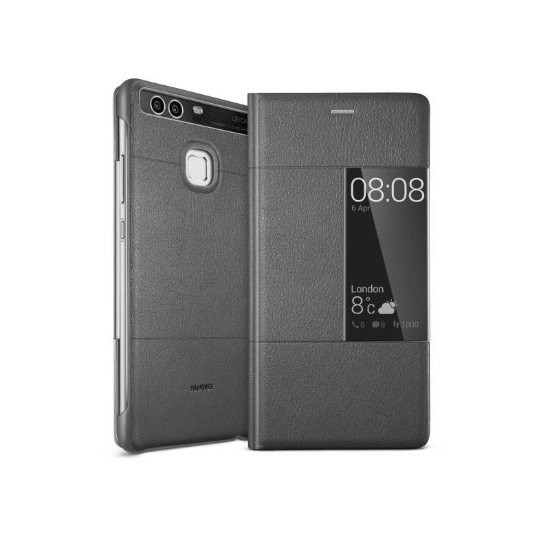 Puzdro na mobil flipové Huawei Smart Cover pro P9 (51991510) sivé