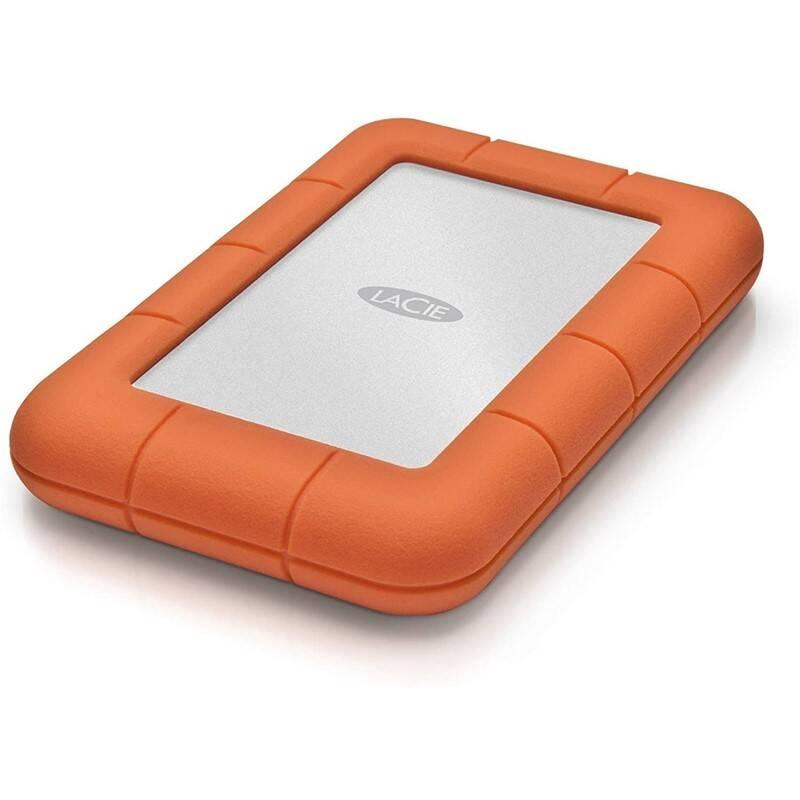 Externý pevný disk Lacie Rugged Mini 2TB, USB 3.0 (LAC9000298) oranžový