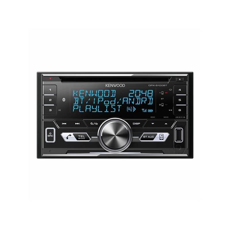 Autorádio s CD KENWOOD DPX-5100BT (DPX-5100BT) černé/stříbrné