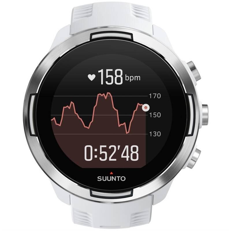 GPS hodinky Suunto 9 Baro - White (SS050021000)