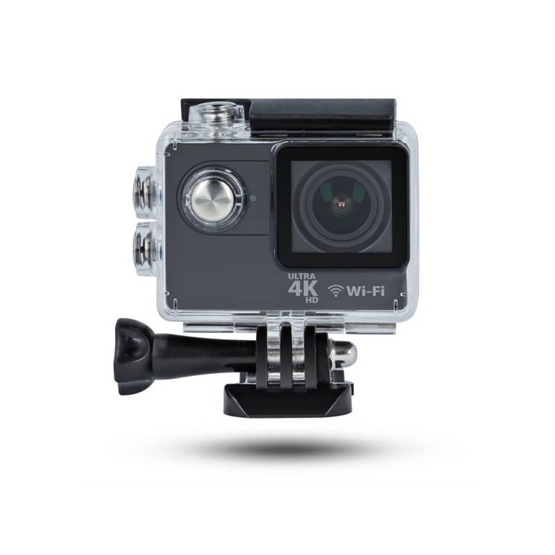 Outdoorová kamera Forever Sportovní kamera Forever SC-410 4K (GSM018131) čierna Paměťová karta Kingston MicroSDHC 16GB UHS-I U1 (45R/10W) + adapter (zdarma)