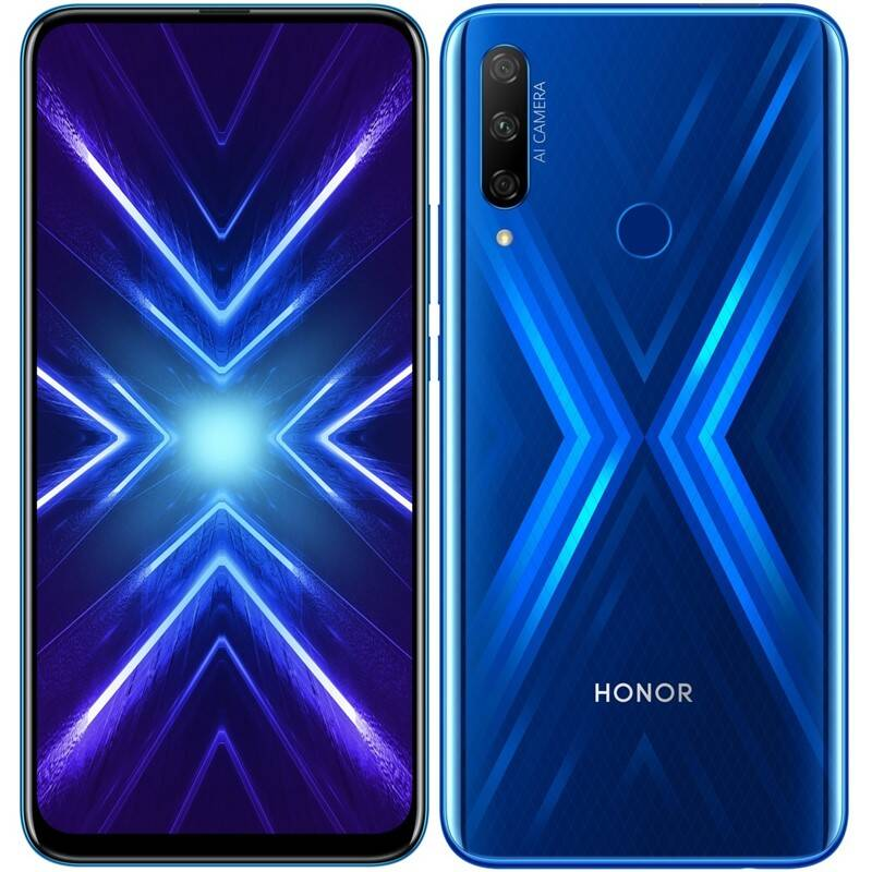 Mobilní telefon Honor 9X (51094TLB) modrý