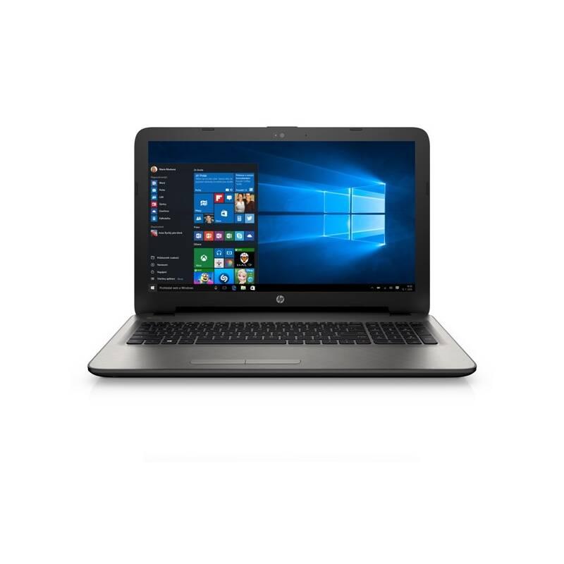 Notebook HP 15-ac111nc (L2S82EA#BCM) strieborný + Doprava zadarmo