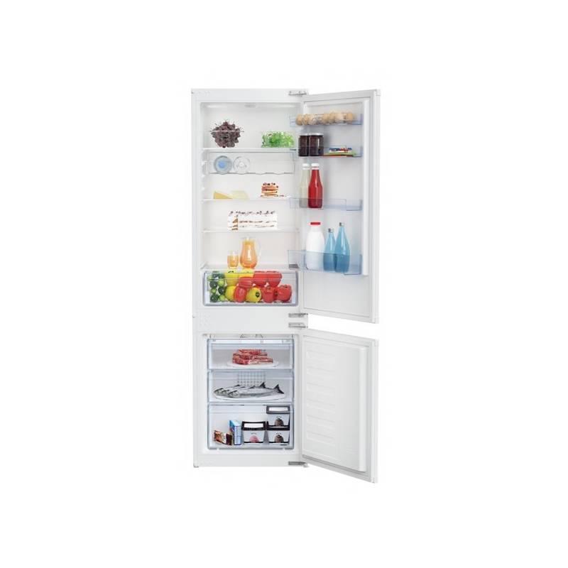 Kombinácia chladničky s mrazničkou Beko BCHA 275 K3S + Doprava zadarmo