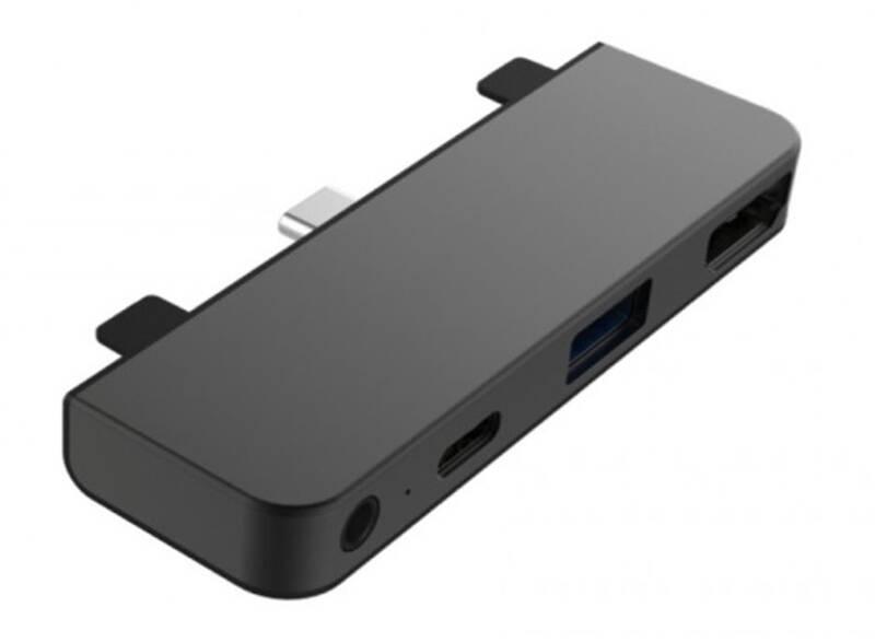 USB Hub HyperDrive pro iPad Pro USB-C/HDMI, USB3.0, USB-C, 3,5mm jack (HY-HD319E-GRAY) sivý + Doprava zadarmo