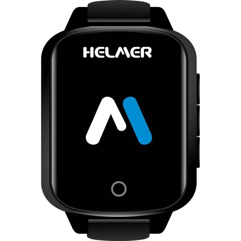 Inteligentné hodinky Helmer pro seniory LK 706 (Helmer LK 706) čierne + Doprava zadarmo