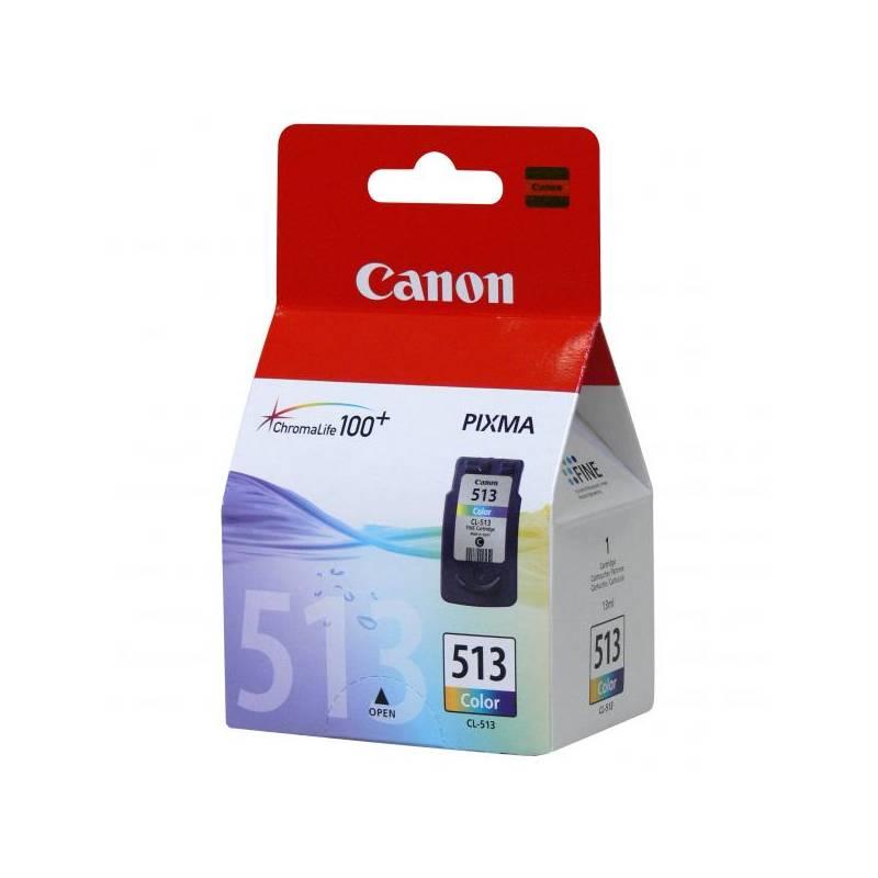 Cartridge Canon CL-513C, 350 stran - originální (2971B001) červená/modrá/žltá