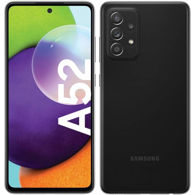 Mobilný telefón Samsung Galaxy A52 128 GB (SM-A525FZKGEUE) čierny