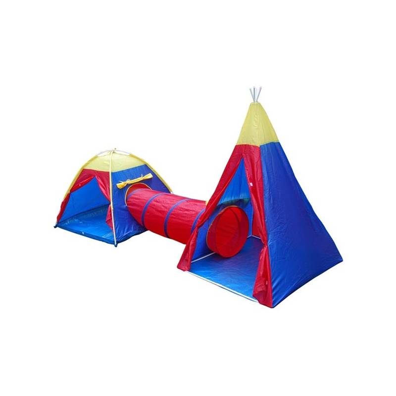 Stan detský Acra ST10 set červený/modrý/žltý