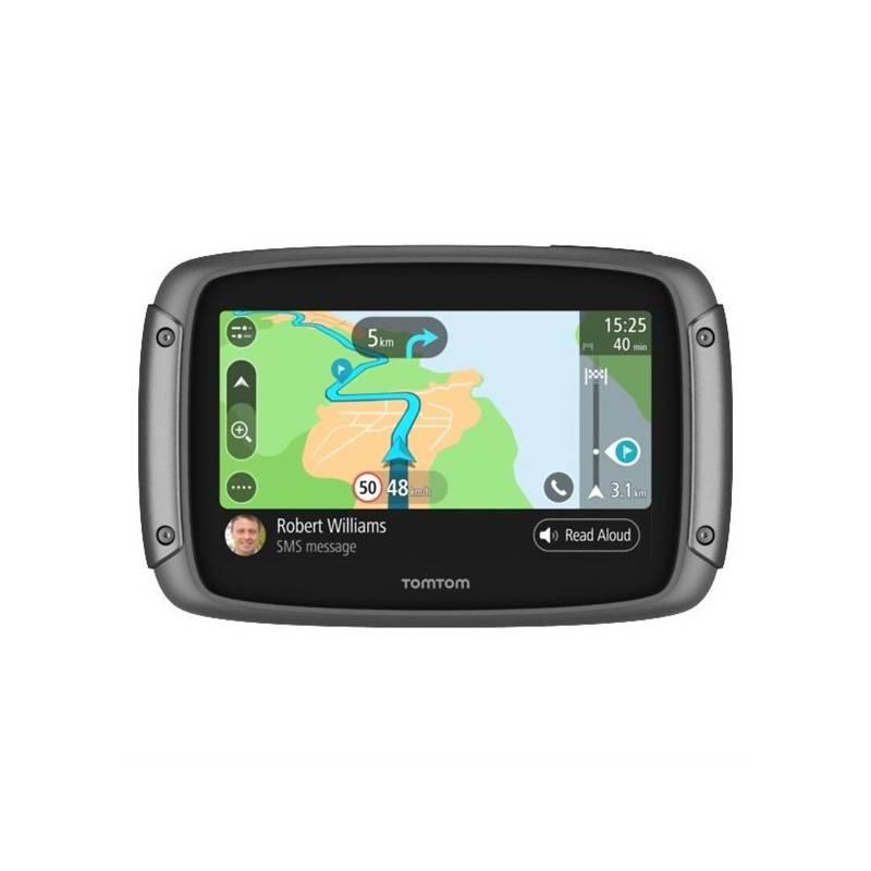 Navigačný systém GPS Tomtom Rider 500, Europe LIFETIME mapy (1GF0.002.00) Držiak na GPS Tomtom pro RIDER 500/550/400/450/4xx (9UGE.001.01) čierny