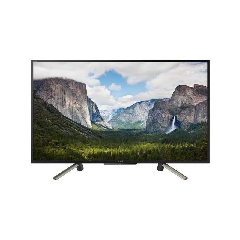 Televízor Sony KDL-43WF665 čierna/strieborná + Doprava zadarmo