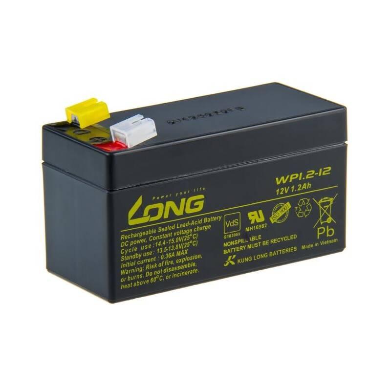 Olovený akumulátor Avacom Long 12V 1,2Ah F1 (WP1.2-12) (PBLO-12V001,2-F1A)