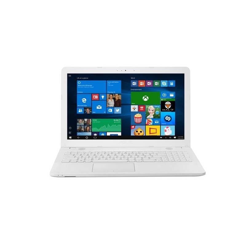 Notebook Asus X541NA-GO129T (X541NA-GO129T) biely Software F-Secure SAFE, 3 zařízení / 6 měsíců (zdarma) + Doprava zadarmo