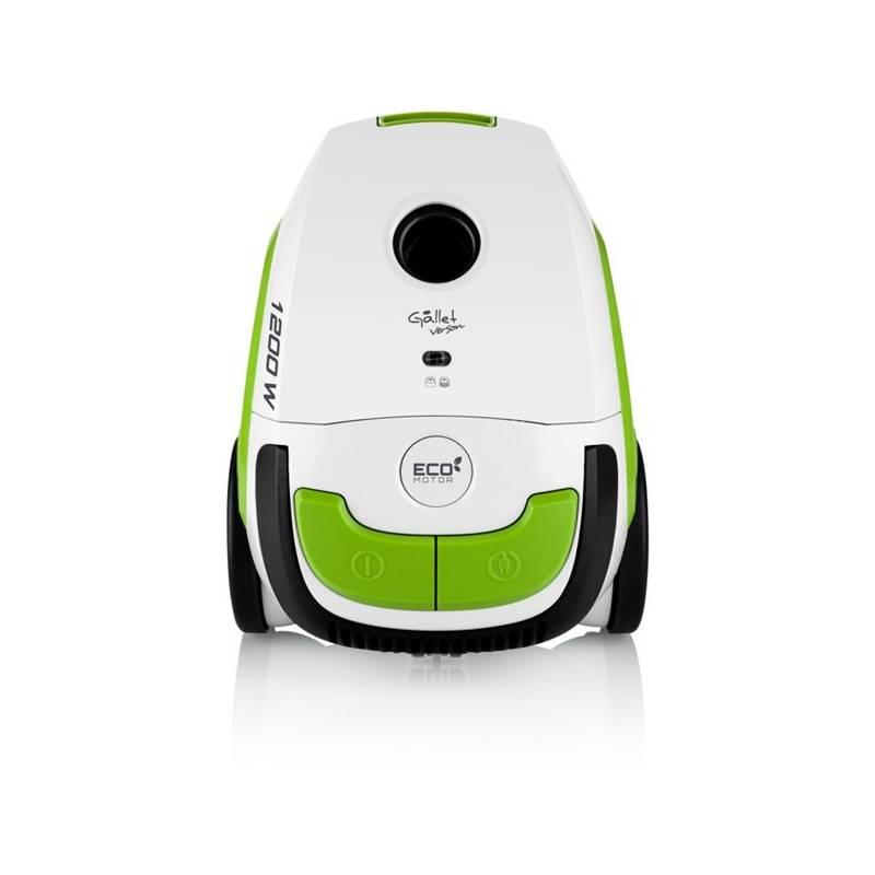 Vysávač podlahový Gallet ASP 300 biela farba/zelená farba