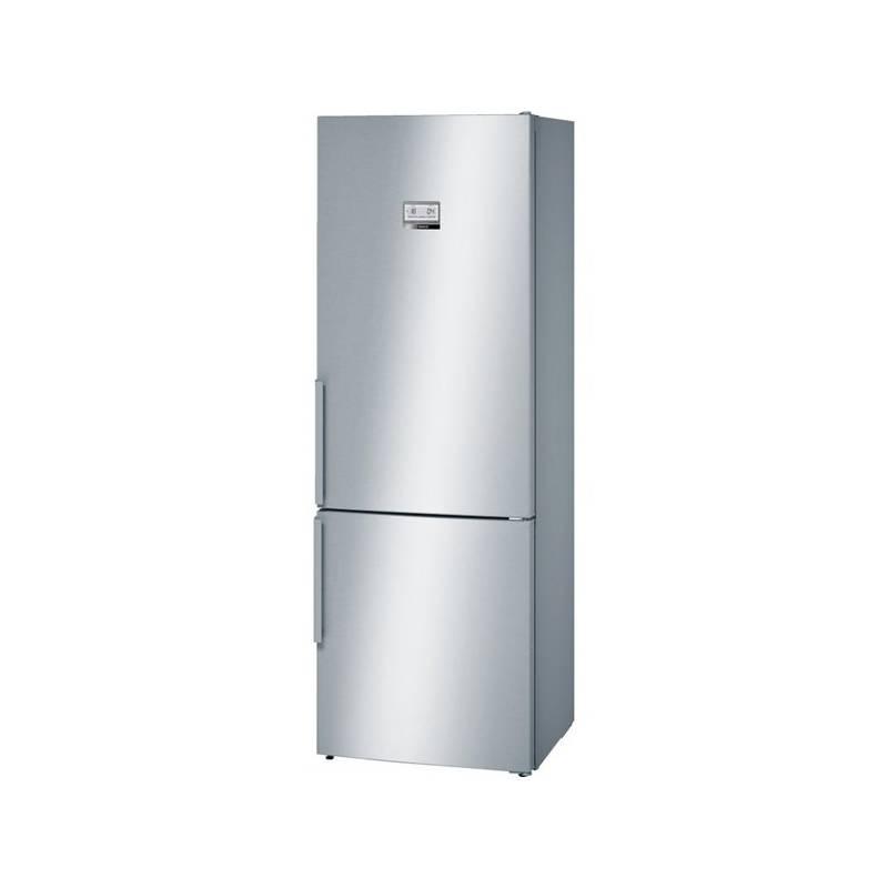 Chladnička s mrazničkou Bosch KGN49AI31 nerez
